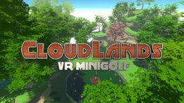VR Arena game: Cloudlands Minigolf
